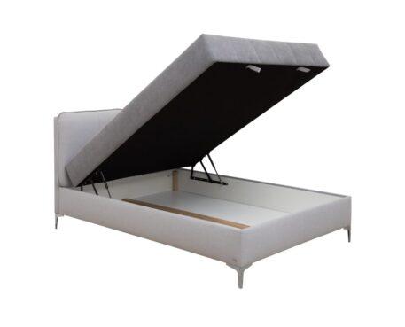 Queen size bed ELEGANCE Grey 1